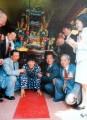 90年阿扁參加成年禮活動