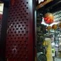 水仙宮-門釘式的大門照片