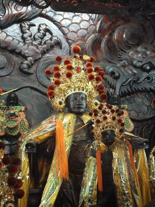 台南 昆沙宮 ( 中壇元帥 )主照片