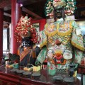 台南神興宮-柯將軍和白劍將軍照片