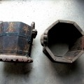 台南神興宮-早期裝鞭炮的器具照片