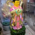 澎湖 紫微宮-未完工前神像照片