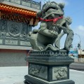 澎湖 紫微宮-大石獅照片