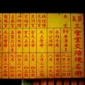 廣濟殿三聖堂-三聖堂交陪境名冊照片