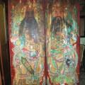 廣濟殿三聖堂-門神-潘麗水作品照片