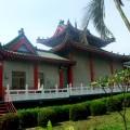 怡峰殿舉喜堂-廟後景觀照片